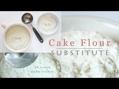 How to make cake flour