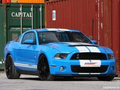 GeigerCars Ford Mustang Shelby GT