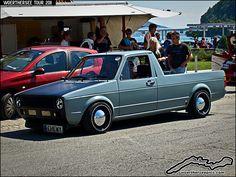 VW Golf Mk1 Caddy Pickup by retromotoring, via Flickr