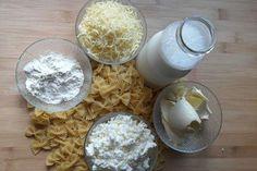 Φιογκάκια ογκρατέν ⋆ Cook Eat Up! Pasta Recipes, Grains, Food, Essen, Yemek, Meals, Pasta