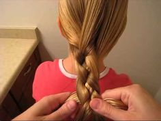 Flat 4 Strand Braid - Video   Babes In Hairland