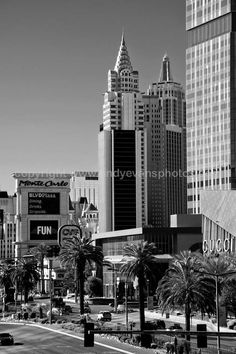 New York New York Las Vegas Nevada America photograph picture poster print photo