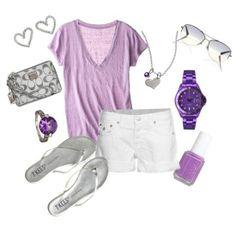 Cute purple outfit love it