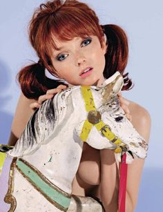 Lily Cole [Playboy France; shot by Xevi Muntané; October 2008] 8