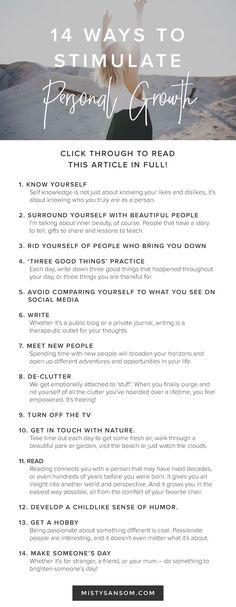 Self Improvement Daily Checklist