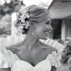 Bride- hair and makeup by Helen Williams Prescay.com