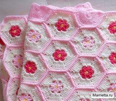Delicadezas en crochet Gabriela: Manta infantil