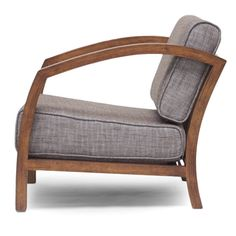 Baxton Studio Velda Brown Modern Accent Chair | Overstock.com Shopping - The Best Deals on Living Room Chairs