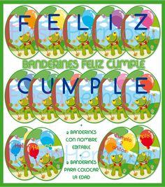 Sapo Pepe tarjetas de cumpleaños http://www.fiestahermosa.com.ar/kit-imprimible-sapo-pepeinvitacionesgolosinascompleto-23xJM