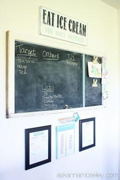 Organized chore charts - Ask Anna
