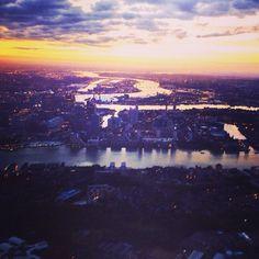 #sunrise over the capital. #london #londonpics #instalike #instafollow #instalondon #city #river