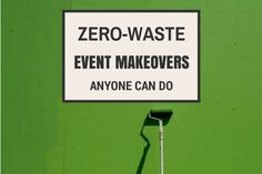 Check out these #zerowaste event tips anyone can implement!