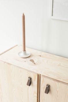 Design Studio Nu - leather handle size 1 - moss