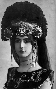Cleopatra de Merode-ballet dancer