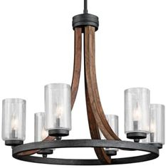 Buy the Kichler Auburn Stained Direct. Shop for the Kichler Auburn Stained Grand Bank 6 Light Wide 1 Tier Candle Style Chandelier and save. Drum Shade Chandelier, Wagon Wheel Chandelier, Chandelier Lighting, Foyer Chandelier, Wood And Metal Chandelier, Quoizel Lighting, Kitchen Chandelier, Contemporary Chandelier, Room Lights