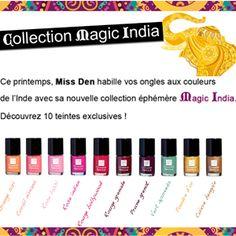 Nouvelle collection #MissDen! Aux couleurs Indienne : Magic India.