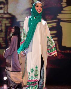 Abaya by OC fashion design . From fashion show .