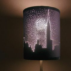make your own desgin on a lamp shade!
