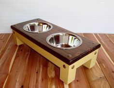 Classic Style Elevated Pet Feeder For Small To by Pet Feeder, Cat Accessories, Medium Dogs, Pet Stuff, Pet Gifts, Beige Color, Dog Bowls, Classic Style, Dog Cat