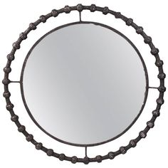 Circular Mirror by Laurent Chauvat, France, 2016 | From a unique collection of antique and modern wall mirrors at https://www.1stdibs.com/furniture/mirrors/wall-mirrors/