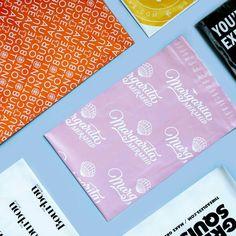 Beautiful assortment of custom poly mailers. #madewithlumi
