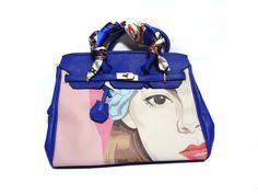 LADY BLUE  HANDBAG SB290 for more details visit www.streetbazaar.in #fashion #style #cool #lady #blue #handbag