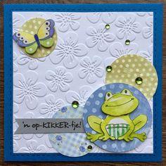 LindaCrea: Opkikkertje #10 3d Cards, Marianne Design, Greeting Cards, Kids Rugs, Digital Art, Shapes, Homemade, Crafts, Diy