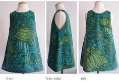 "Klänning i tyget ""Legend"" av Göta Trägårdh Textiles, Textile Prints, Marimekko Dress, Color Patterns, Modern Patterns, Swedish Design, Diy Clothes, Vintage Dresses, Pattern Design"