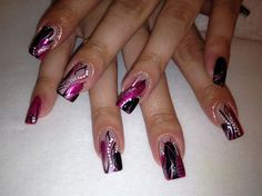 Blaine's Nails by nabirye38 - Nail Art Gallery nailartgallery.nailsmag.com by Nails Magazine www.nailsmag.com #nailart