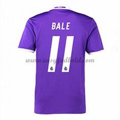 Fodboldtrøjer La Liga Real Madrid 2016-17 Bale 11 Udebanetrøje