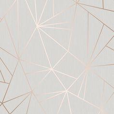 Camden Apex Glitter Wallpaper Rose Gold (H980544)
