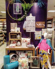 Visual Merchandising | Display Home Linen | Window Display | Metropolitan Retail Mart | Creative Display