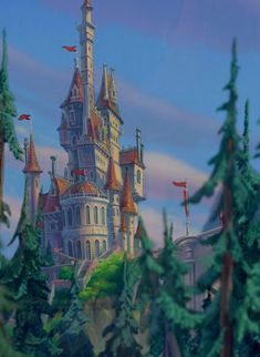 """I got The castle from """"Beauty and the Beast""""! What Disney Home Should You Live In? Living in a castle = great. Living in a castle with a library that's so beautiful and so expansive that it would make any book lover faint with happiness = even greater. Have Cogsworth and Lumière drag a bed down there for you and never leave."""