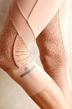 Adidas by Stella McCartney 3/4 Starter Tights - anthropologie.com