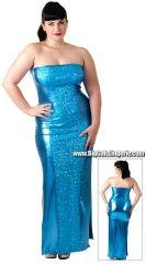 Plus Size Sequin Elsa Gown