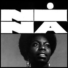 Best Album Art Nina Simone images on Designspiration Music Logo Inspiration, Typography Inspiration, Design Inspiration, 2 Logo, Bold Logo, Album Design, Conception Album, Best Album Art, Musik Illustration
