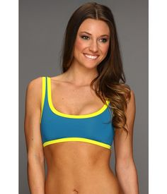 Roxy ace swimsuit. Versatile, quick-to-dry swim top. The ultimate sporty suit.