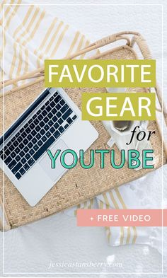 I get asked all the time what my favorite gear for making YouTube videos is - so, here ya go!  My favorite YouTube equipment here! #youtube #video #videotips #contentmarketing #youtubetips