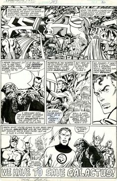 Comic Book Pages, Comic Books Art, Book Art, Marvel Art, Marvel Comics, Comic Art Fans, John Byrne, Black White Art, Jack Kirby