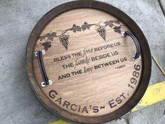 11 Best Wine Barrel Customization Images Wine Barrel Lazy Susan