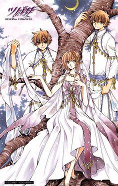 Syaoran Li (李小狼), Syaoran (小狼) & Sakura (サクラ) | Tsubasa: RESERVoir CHRoNiCLE (ツバサ -RESERVoir CHRoNiCLE-), TCR, Tsubasa | CLAMP