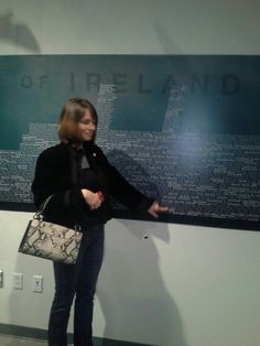 Me pointing to my great great grandparents names Tylee of (rosemere quebec) in the exhibit of empress of Ireland's ill-fated voyage at pier 21 in Nova Scotia Great Grandparents, Nova Scotia, Quebec, Exhibit, Ireland, Canada, Names, Shoulder Bag, Travel