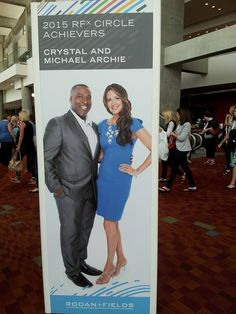 Reason #2 why the rich are rich: What do #RICH people know that you don't? They know how to recognize a #GREAT opportunity...Michael Archie x-NFL running back & his wife jumped on Rodan+Fields #opportunity. Why not you?