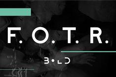 F. O. T. R. bold by JAF 34 on @creativemarket