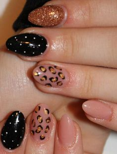 36 Beautiful Modern Nails With Bombastic Design  | See more at http://www.nailsss.com/french-nails/2/