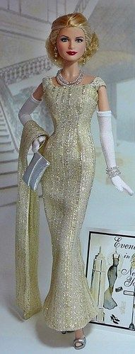 fashion doll, glamorous dress, The Doll Page