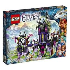 Amazon.com: LEGO Elves 41180 Ragana's Magic Shadow Castle Building Kit (1014 Piece): Toys & Games