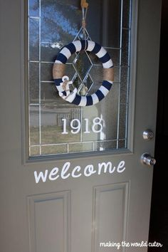 Cute House Numbers and a Giveaway! - Making the World Cuter 4/6/14