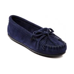 Shop for Womens Minnetonka Kilty Moc Casual Shoe in Navy at Journeys Shoes. Shop today for the hottest brands in mens shoes and womens shoes at Journeys.com.A classic that never goes out of style, the Minnetonka Kilty Moc features a soft suede upper with whip-stitched toe and fringe detailing. Leather lining and cushioned EVA footbed for unmatched comfort. Grippy rubber outsole with podded tread. Available only online at Journeys.com and SHIbyJourneys.com!