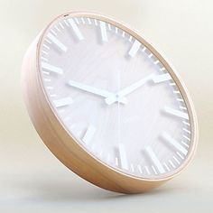 "13""H Simplicity Analog Wall Clock"